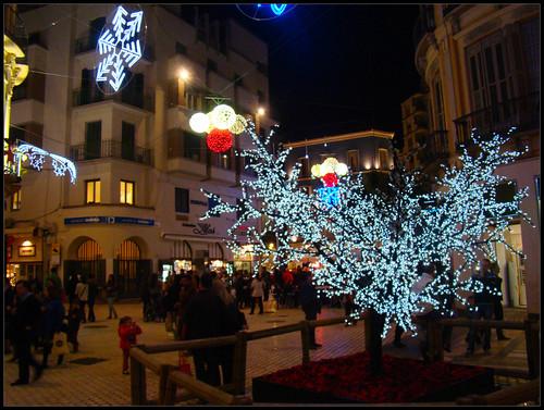 Decoración navideña Málaga