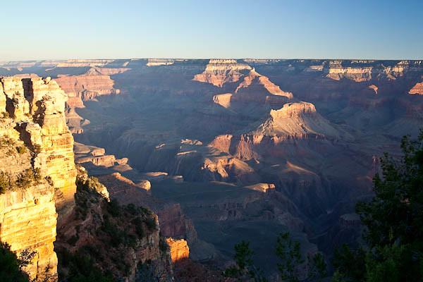 Grand Canyon Sunrise 8:33 AM