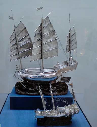 Silver & Wood Ships
