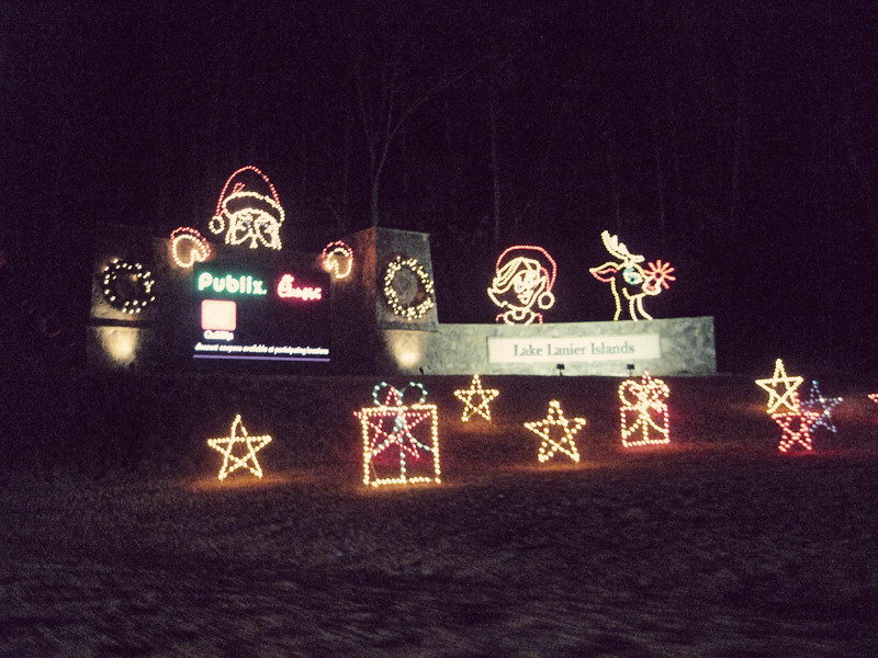Mary Rebecca: Lake Lanier's Magical Nights of Lights