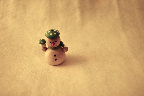 snowman in the room.