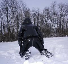 IMGP1009 (Karhu1) Tags: schnee snow shiny jacket nylon snowsuit jacke overall skianzug