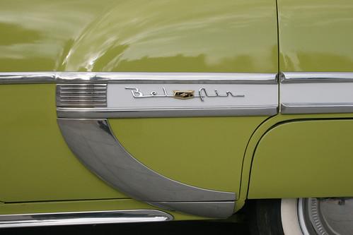 El Cajon Cars 50s Chevy Bel Air Emblem A Photo On Flickriver