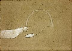 Beuys, Joseph (1921-1986) - 1949 Dove, Food, Rainbow (National Galleries of Scotland, Edinburgh) (RasMarley) Tags: bird watercolor surrealism 1940s german painter 20thcentury beuys 1949 josephbeuys nationalgalleriesofscotland publiccollection dovefoodrainbow