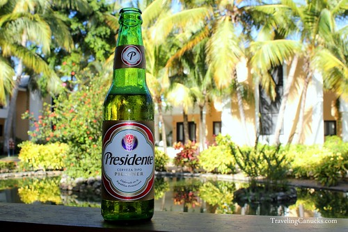 Presidente Beer at Bavaro Princess Resort in Punta Cana