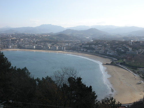 San Sebastian from Mt. Igueldo