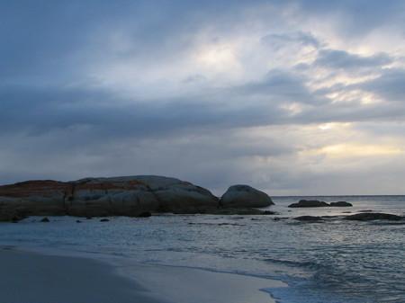 Dawn at Bay of Fires