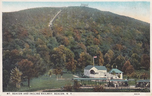 Trolley Station at Mt Beacon Incline Railway