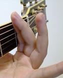 放開無名指與小指