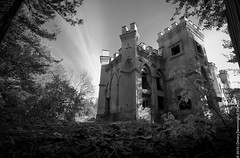 The Kossovo Castle (lemmingby) Tags: blackandwhite bw postprocessed castles abandoned architecture buildings travels trips belarus palaces kossovo brestregion otherwheres