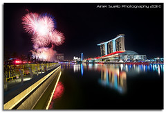 """Welcome New Year 2011"" :: Countdown @ Marina Bay Singapore (alner_s) Tags: singapore marinabay newyear2011 marinabay2011countdown"