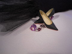 girls best friends (maggimini) Tags: party fashion shoes silk jewels momoko