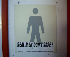 Real Men Don't Rape! (cowyeow) Tags: africa strange sign southafrica bathroom weird funny african bad evil toilet rape wrong badsign ugly mens restroom funnysign springbok raping westerncape fail cruel funnyafrica