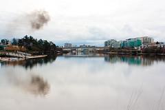 The Urban Mix (www.eileenseto.photography) Tags: bridge urban industry water air victoria pollution baybridge gorge waterway gallopinggoosetrail
