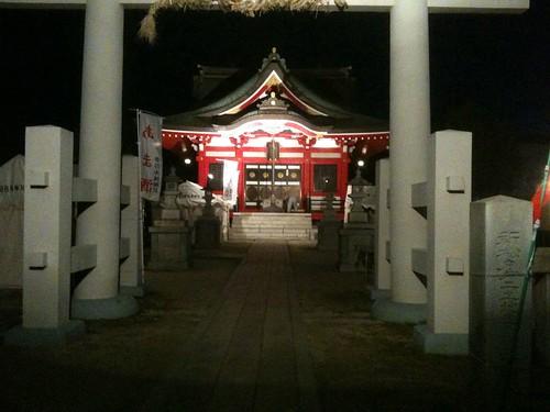 新松戸の神社