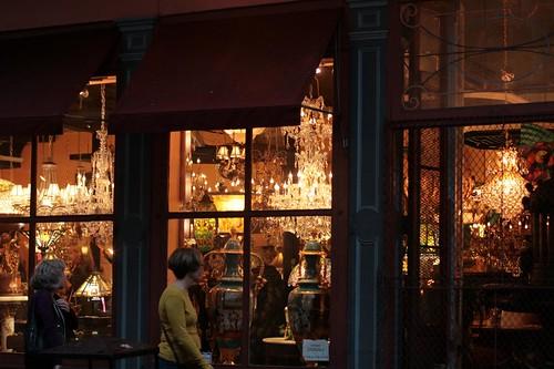 antiques shops galore on Royal