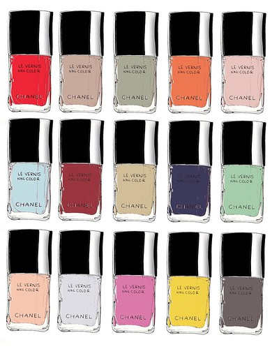 My favorite Chanel nail polish colors