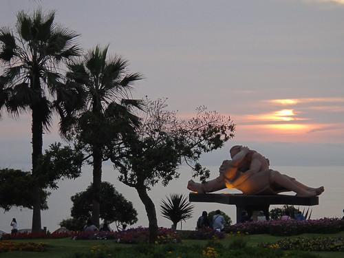 Parque del Amor in Miraflores, Peru