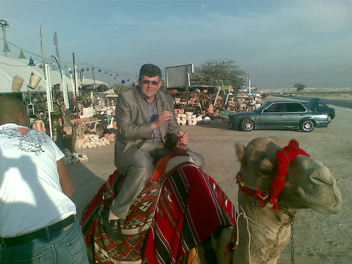 Mark Dvoretsky on camel