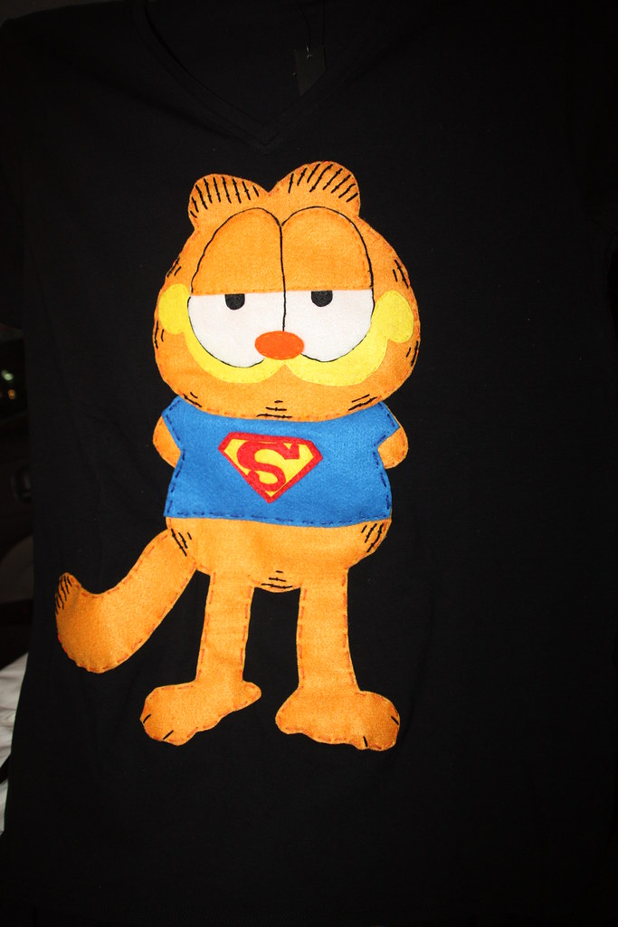 Superman Garfeild T.shirt
