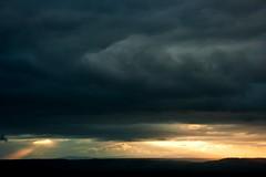 god is watching you (duegnazio) Tags: sky cloud canon 350d italia tramonto nuvola basilicata cielo 2011 duegnazio