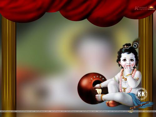 wallpaper of baby krishna. Posters of Baby Krishna , Baby