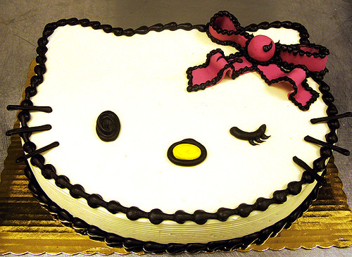 Hello Kitty Cake by Tony