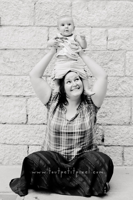 photo maman bébé