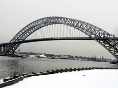 Bayonne Bridge over Kill Van Kull, Staten Is