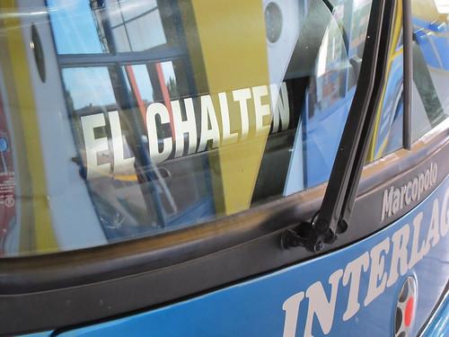 Bus to El Chalten - Patagonia, Argentina