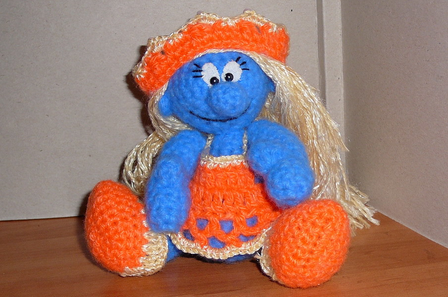 The World\'s Best Photos of crochet and smurf - Flickr Hive Mind