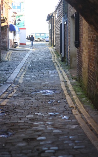 Cobbled alleyway, Folkestone
