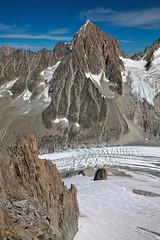 Aiguille du Chardonnet and Argentiere glacier (Nathan A) Tags: travel france mountains alps fall adventure chamonix montblanc hautesavoie outoors chamonixmontblanc