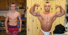 Cody, before & after (muscle[spell]bound) Tags: man training power masculine muscle hunk bodybuilding buff strong strength muscleman bodybuilder workout gym macho weight protein weights testosterone bicep steroids tricep culturismo testosteron musculos bizeps muskel testos muskelmann culturiste bigorexia bigorectic