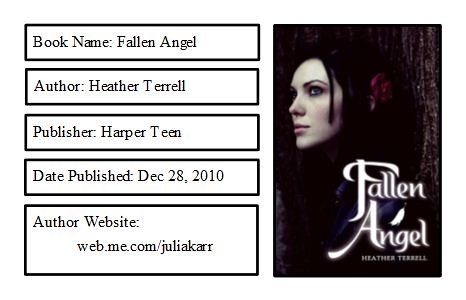 Fallen Angel Bookplate