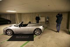 Tesla & Charging Station