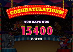 free The Grand Circus bonus win