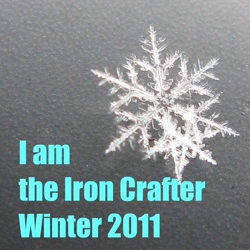 Iron Crafter Winter Winner Badge