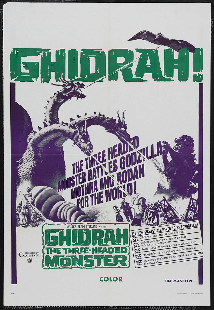 Ghidrah, the Three-Headed Monster (Toho, 1964) 4