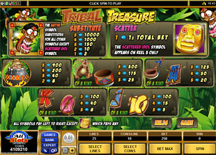 free Tribal Treasure slot mini symbol