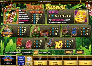 free Tribal Treasure slot mini symbol