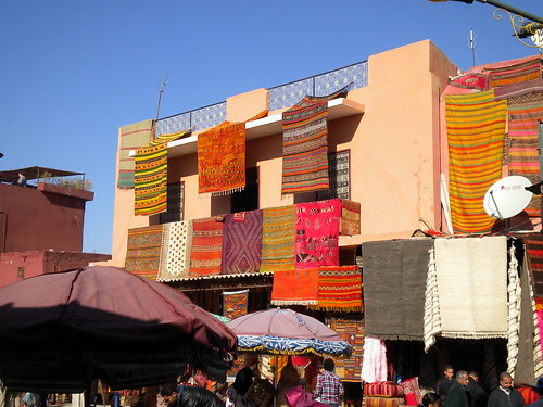 View from the souk, Marrakech