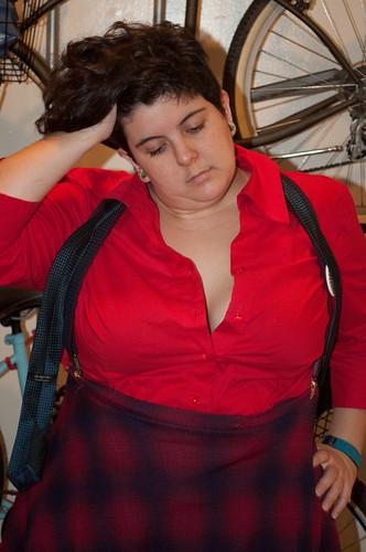 what I wore, fire engine, fat fashion, marina rose martinez
