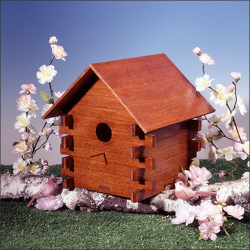 Ingrid Callot birdhouse from greenleafdollhouses.com