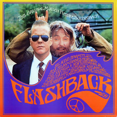 Flab Shack (epiclectic) Tags: music art sunglasses hippies vintage album vinyl retro collection jacket cover lp record 1989 peacesign keifersutherland sleeve soundtrack handcuffs anagram dennishopper thefuturessobrightigottawearshades epiclectic titlebywordsmithorg tfsbigws