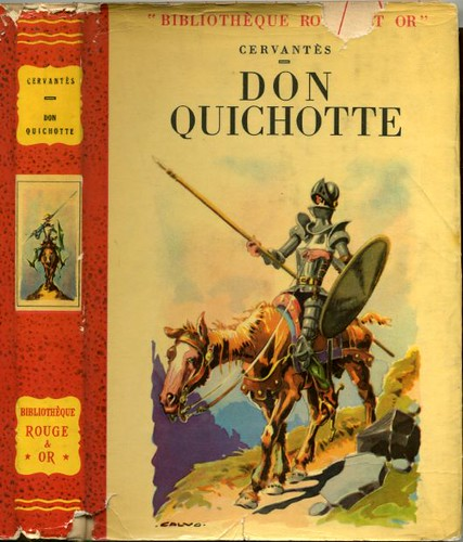 Don QUICHOTTE by, CERVANTES