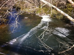 Frozen Toccoa River