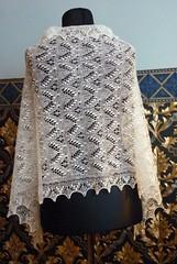 haapsalu sall piibelehekirjaga3 (rees2) Tags: shawl knitted rees haapsalu kudumine haapsalusall estonianlace haapsalushawl kudumid pitsilised