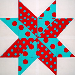 Starflower Quilt Block