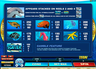 free Dolphin Coast slot mini symbol